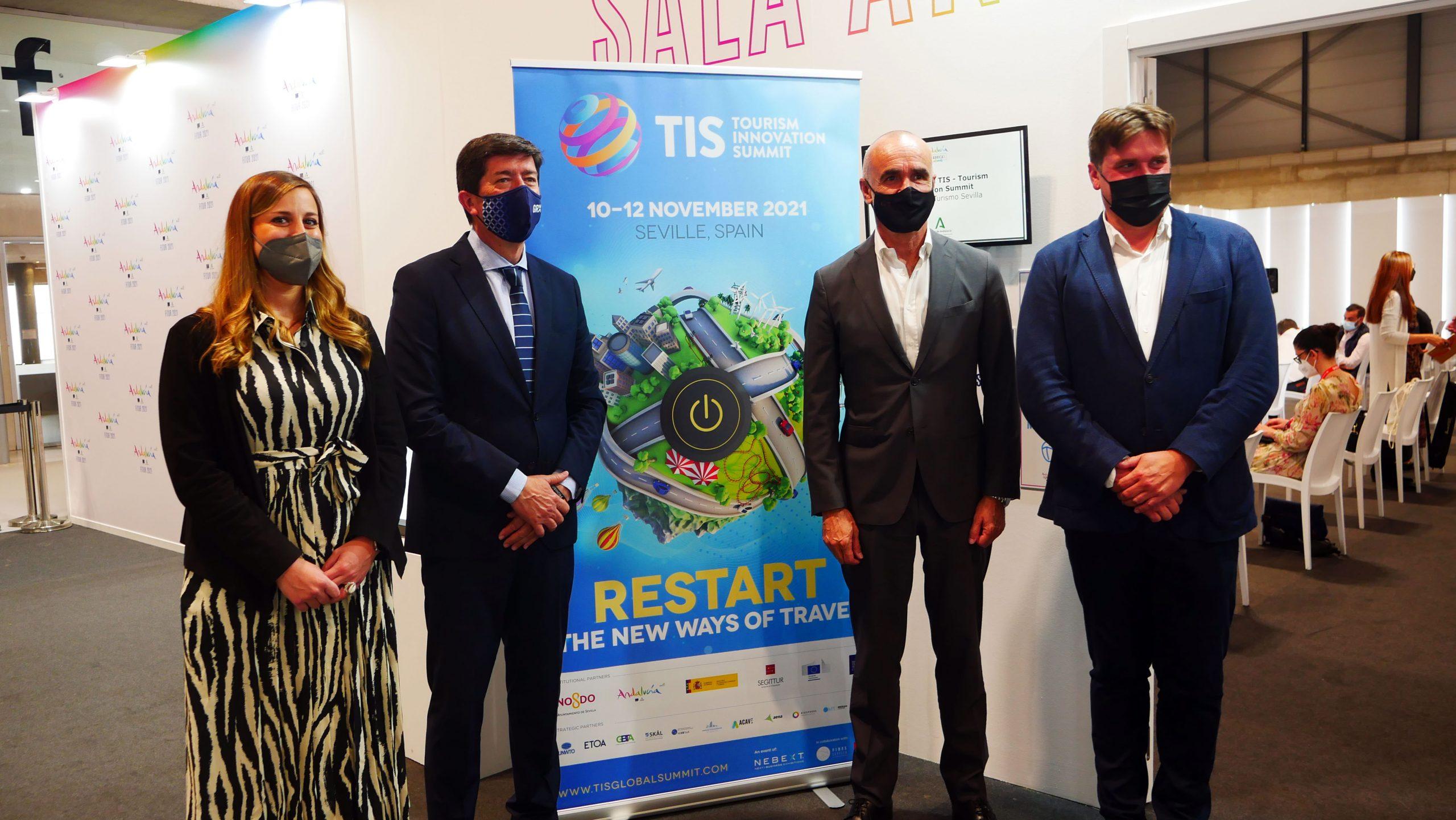 Digitalización, confianza, inclusión y sostenibilidad serán los pilares de TIS2021 para reactivar el turismo